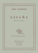 España (Rapsodie pour orchestre)