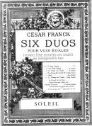 Soleil : Six Duos pour Voix Egales N°5