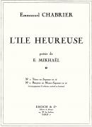 L'Ile Heureuse N°1 Pour Voix Elevées (Ténor ou Soprano)