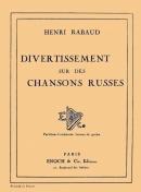 Divertissement sur des Chansons Russes Op. 2