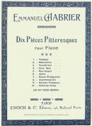 Dix Pièces Pittoresques Recueil