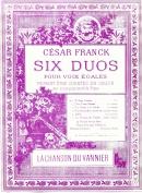 La Chanson du Vannier : Six Duos pour Voix Egales N°6