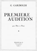Première Audition, pièce facile pour flûte et piano