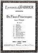 Idylle :  N°1 in Suite Pastorale (Extraite des Dix Pièces Pittoresques)