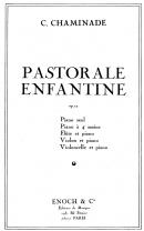 Pastorale Enfantine Op.12 Transcription pour Piano & Violon ou Fûte