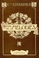 Recueil de Mélodies (Edition pour Voix Graves) épuisé