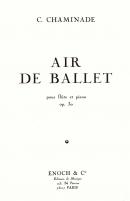 Air de Ballet Op.30