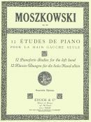 Douze Etudes de Piano pour la Main Gauche Op.92