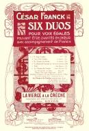 La Vierge à la Crèche, Six Duos pour Voix Egales N°3
