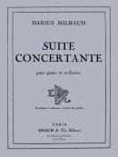 Suite concertante pour piano et orchestre