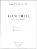 Concerto pour Marimba et Orchestre, transcription pour Marimba & Piano