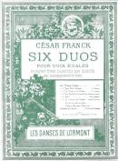 Les Danses de Lormont : Six Duos pour Voix Egales N°4